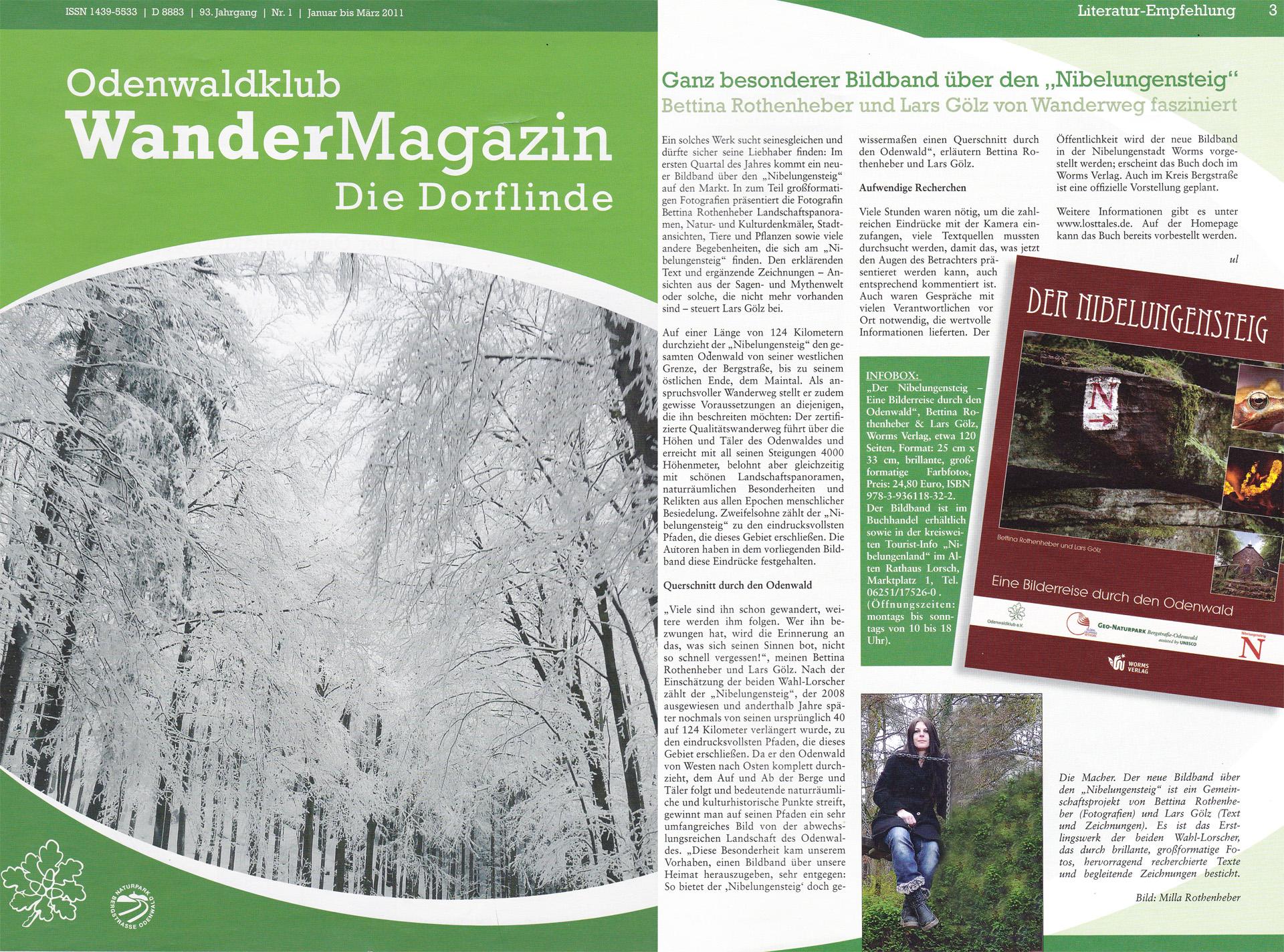 Dorflinde Wandermagazin