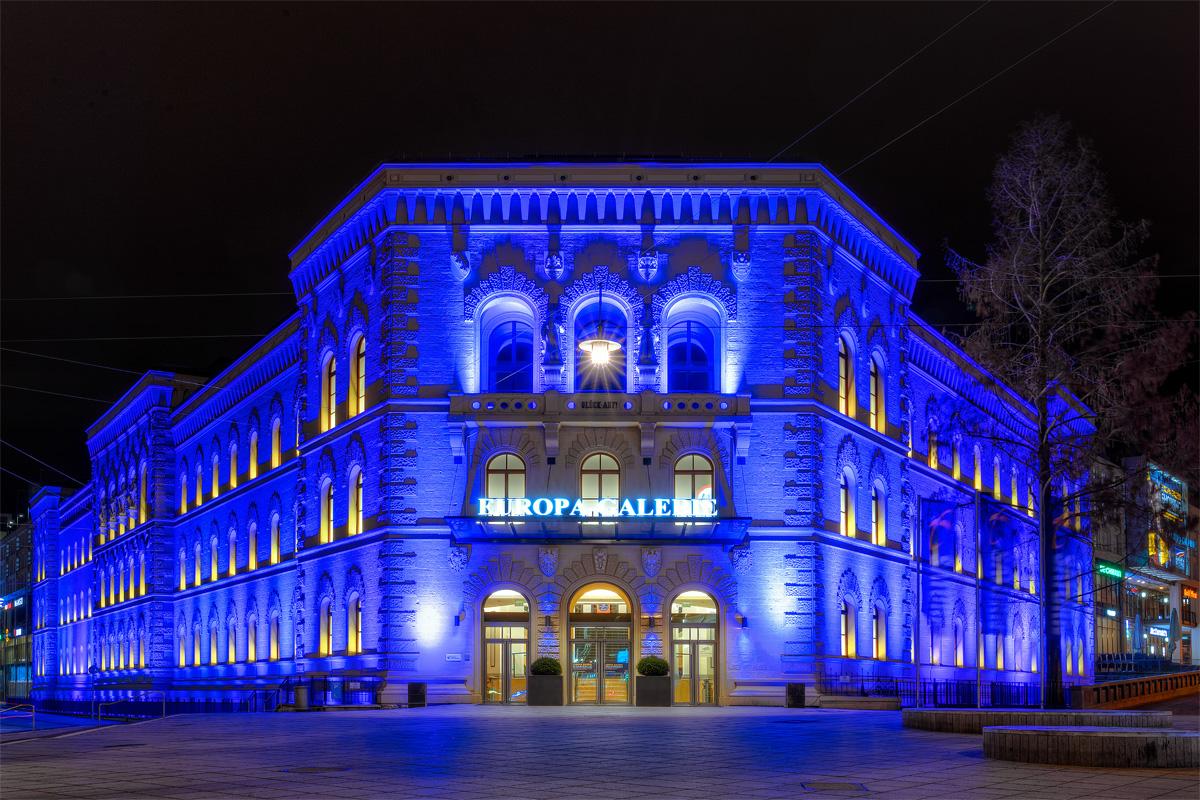 Europagalerie_blue