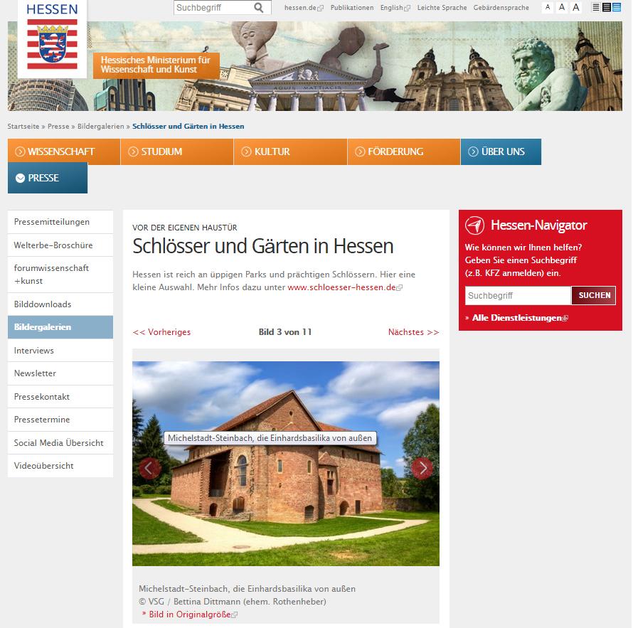 Schlösserverwaltung Hessen