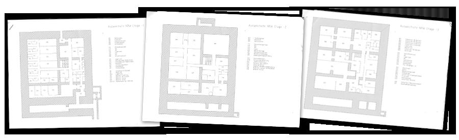 Der Bauplan des Bunkers
