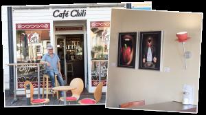 Ausstellung Café Chili