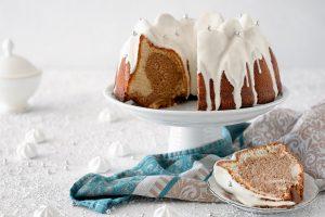 Marmorkuchen mit Nugat
