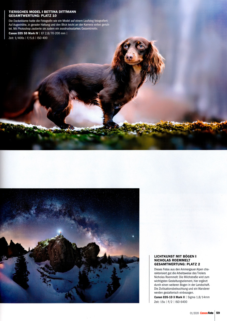 Canon Foto - Fotograf des Jahres